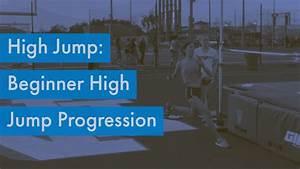 High jump: Beginner Progression Drills - YouTube