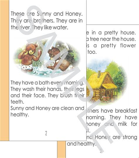 k 1st 2nd grade esl printable books for children