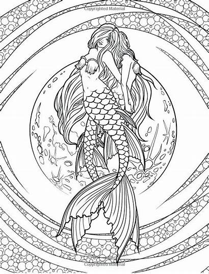 Unicorn Coloring Pages Detailed Printable Getcolorings