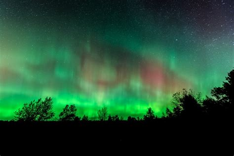 northern lights in michigan geomagnetic could bring northern lights to michigan
