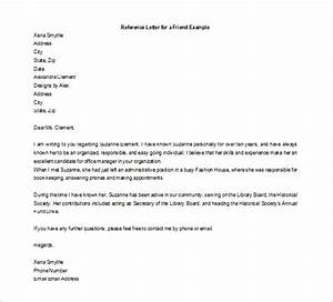 40 Awesome Personal Character Reference Letter Templates ...