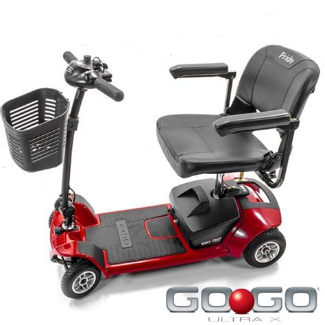 pride mobility go go ultra x travel scooter 4 wheel
