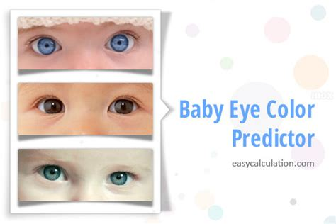 baby eye color predictor baby hair color calculator dominant genes hair color