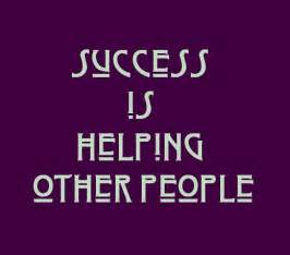 People Helping Success Quote