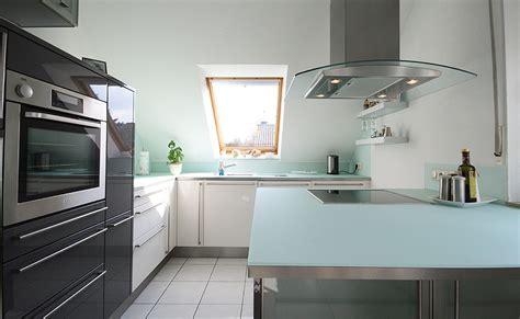 Kuchenarbeitsplatte Glas by Glasarbeitsplatten K 252 Che Ma 223 Anfertigung Terporten