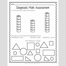{grade 1} Ontariobased Diagnostic Math Assessment Test Tpt