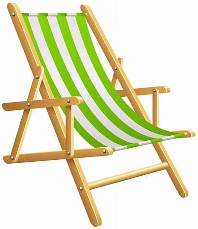Chair Beach Clipart Clip Watermark Summer Cliparts