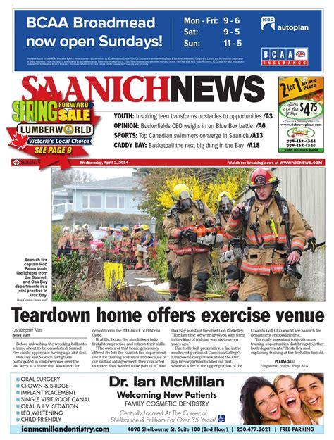 © 2020 royal & sun alliance insurance company of canada. Saanich News, April 02, 2014 by Black Press Media Group - Issuu