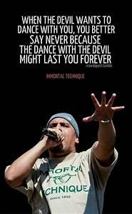 Dance With The Devil Immortal Technique Quotes. QuotesGram
