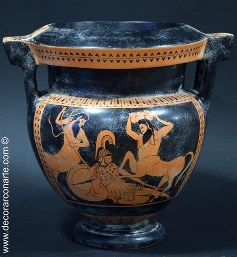 vasi antica grecia bulloni a colonnette ceramica greca h 33 cm 216 30cm