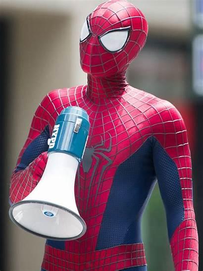 Spider Amazing Costume Mtv Spiderman His Garfield