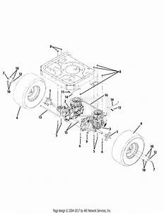 Troy Bilt 17wf2acs011 Colt Xp  2012  Parts Diagram For