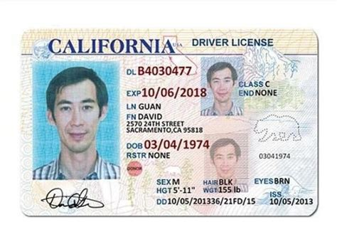 California Id Template California Drivers License Tt Templates Drivers