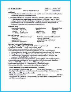 powerful cyber security resume to get hired right away With cyber security resume sample