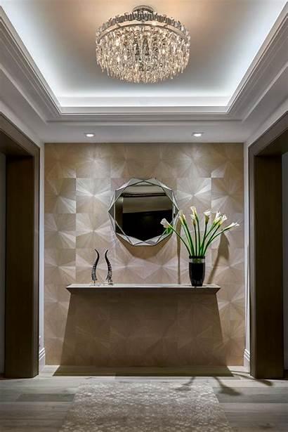 Deco Modern Foyer Chandelier Crystal Hgtv Accents