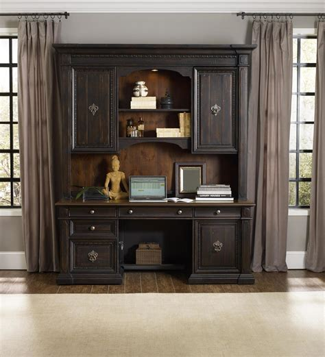 Home Office Credenza - the treviso home office computer credenza and hutch