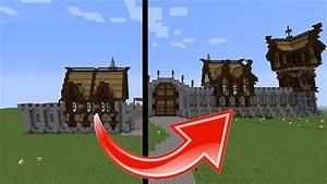 Minecraft How To Build Transform Medieval Buildings