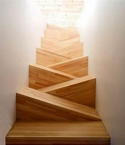 Marche Bois Escalier : l 39 escalier moderne en 110 photos magnifiques ~ Premium-room.com Idées de Décoration