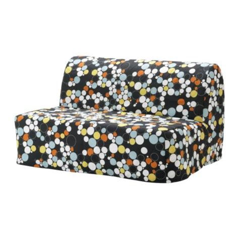 lycksele chair bed cover lycksele two seat sofa bed cover b 229 lsta multicolour ikea