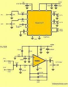Bas And Amp For Car Stereo Capacitor Wiring Diagram