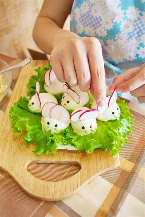 easter snack ideas easy easter bunny deviled egg appetizer good healthy cheap party idea holicoffee