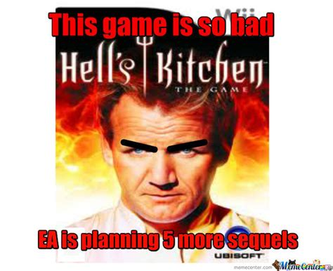 Hells Kitchen Meme - hell s kitchen the game by redskady meme center