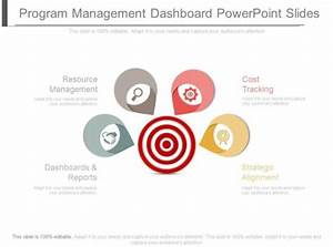 Program Management Dashboard Powerpoint Slides