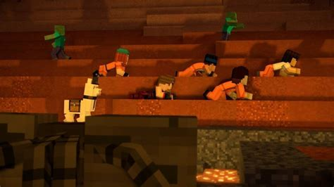 minecraft story mode season 2 episode 4 review attack of the fanboy