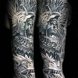 80 Mayan Tattoos For Men - Masculine Design Ideas