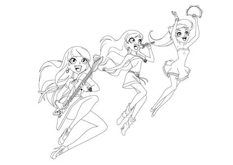 Deviantart is the world's largest online social community for artists and art enthusiasts princess carissa is the princess of calix. Coloring Lolirock | Color Fun