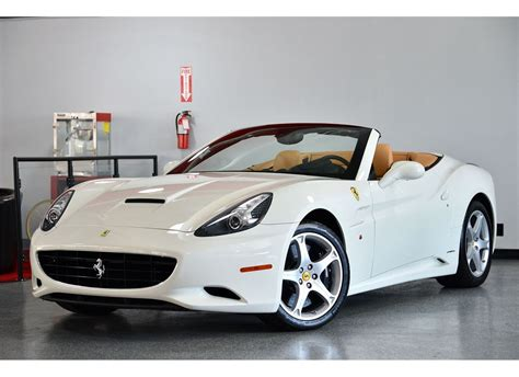 Shop with confidence on ebay! 2011 White Ferrari California Base Convertible