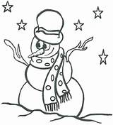Snowman Coloring Pages Printable Abominable Print Easy Getcolorings Christmas Snowmen Drawing Story sketch template