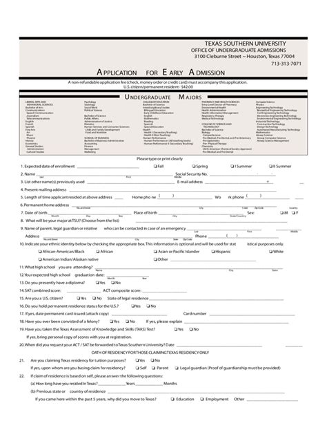 a m application form 1 free templates
