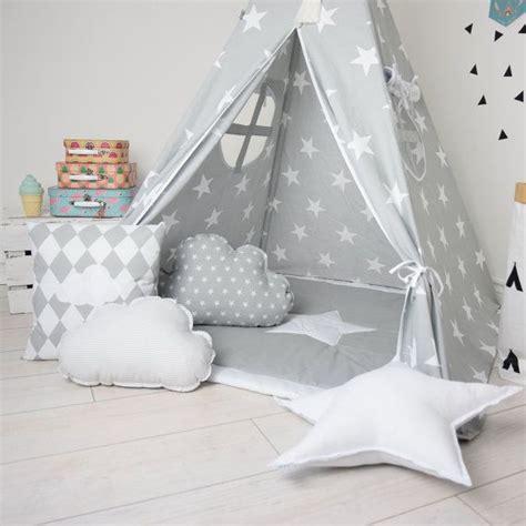 Spiel Tipi Kinderzimmer by Childrens Teepee Play Teepee Teepee Tent Set Gray Teepee