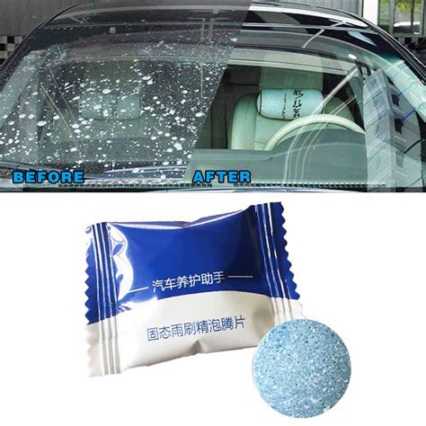 windshield cleaner glass detergent effervescent cleaning multifunctional 4l 1pcs dropship spray water kitchen 50pcs washer