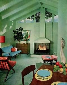 50s interior 50s interiors pinterest interiors With 50s interior design ideas