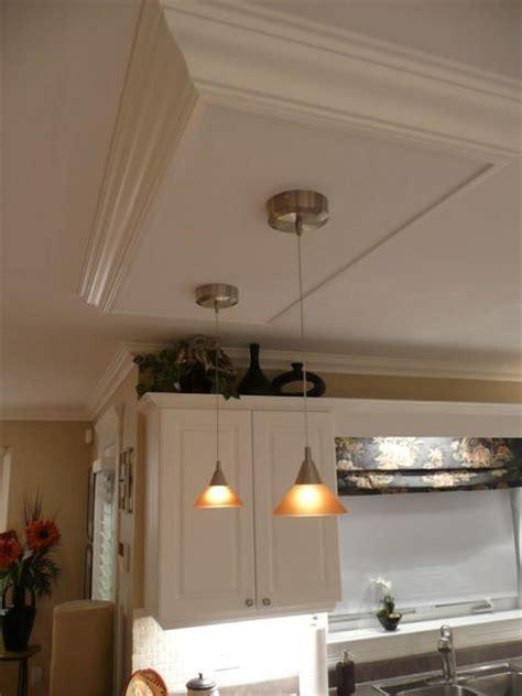 create  kitchen island ceiling light box kitchen