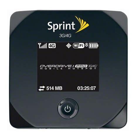 Sprints Overdrive Pro 3g4g Mobile Hotspot Lands On March