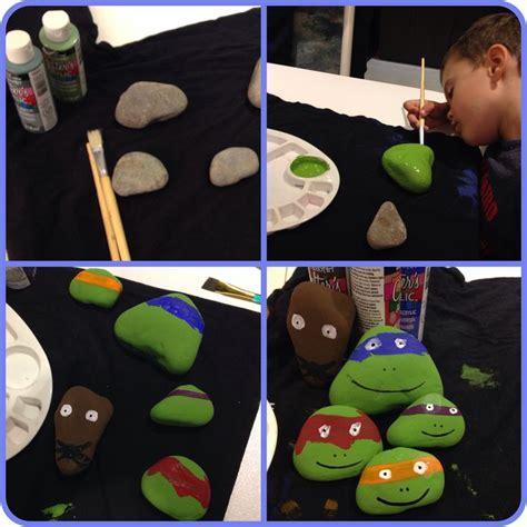 Rock Crafts Teenage Mutant Ninja Turtles And Teenage