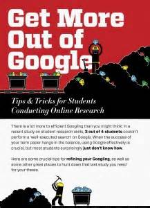 An Excellent Infographic For Learners About Using Google
