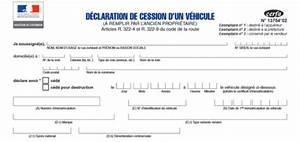 Document Cession Vehicule : d claration de cession de v hicule en pdf t l charger ici ~ Gottalentnigeria.com Avis de Voitures