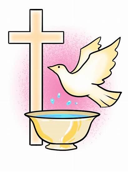 Baptism Clipart Symbols Catholic Cross Symbol Clip
