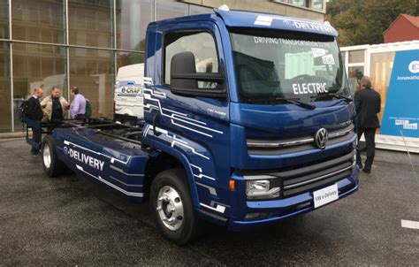 Vw Plans For Electric Trucks And Buses, Starting