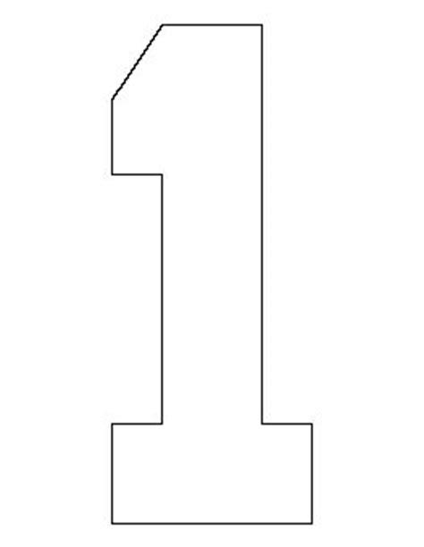number 1 pattern templates inspiration for diy sts number patterns lettering stencils