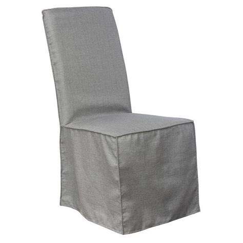aislin ivory slipcover dining chair