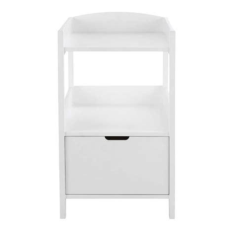 table a langer en bois table 224 langer en bois blanc l 80 cm sweet maisons du monde