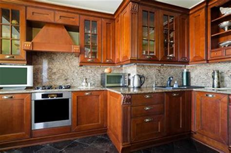 types of wood cabinets for kitchen glass front cabinet styles lovetoknow 9510