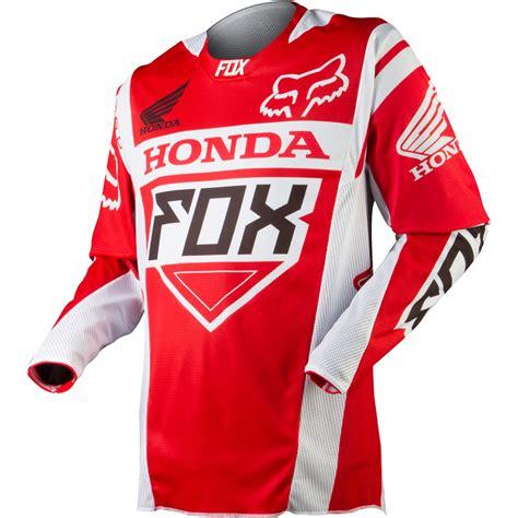 fox motocross sweatshirts apparel fox racing off road jerseys men 360 honda red jpg