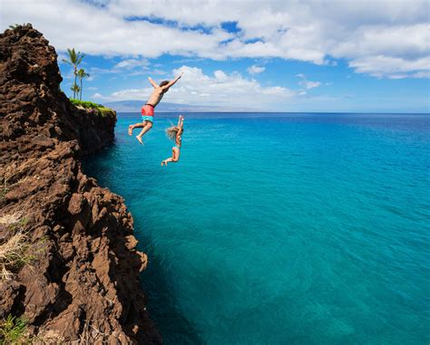 cliff diving free hd wallpapers images backgrounds