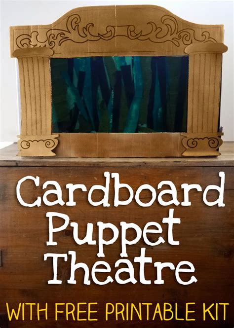 homemade puppet theatre lets play